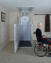 ascenseur maison handicape