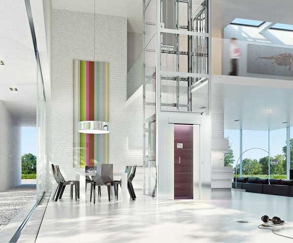 ascenseur maison thyssen