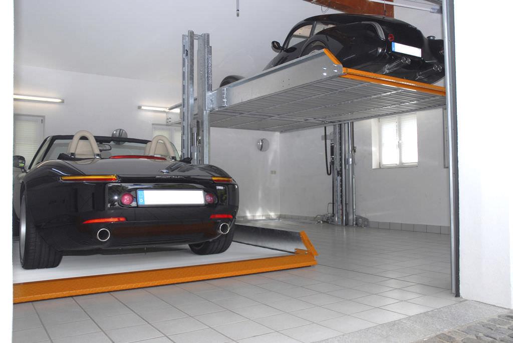 Ascenseur pour voiture maison for Ascenseur voiture garage