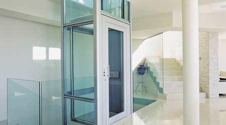 ascenseur privatif autoportant