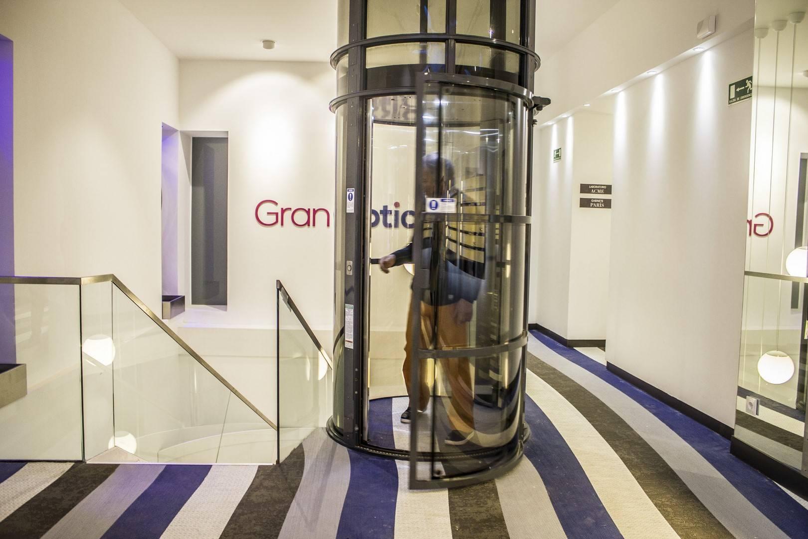 ascenseur privatif circulaire