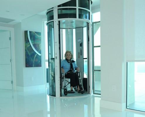 ascenseur privatif design