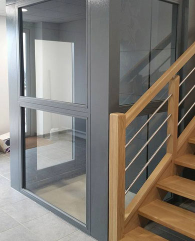 ascenseur privatif dimensions