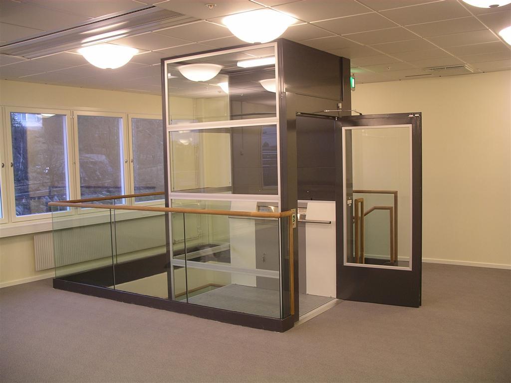 ascenseur privatif interieur