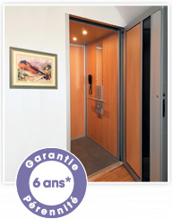 ascenseur privatif orne