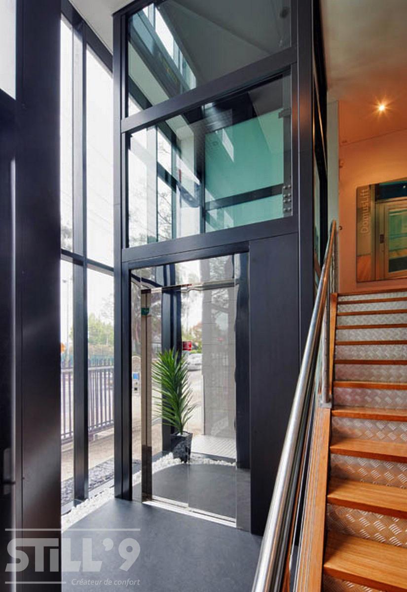 ascenseur privatif pmr