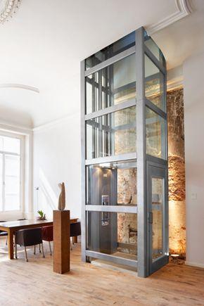 ascenseur privatif thyssen