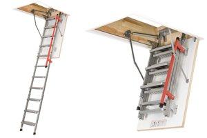 escalier electrique escamotable
