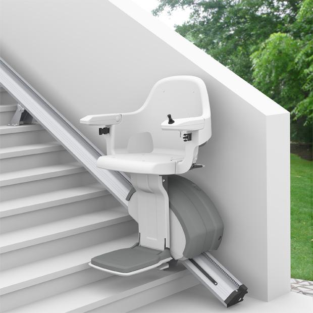 escalier electrique exterieur