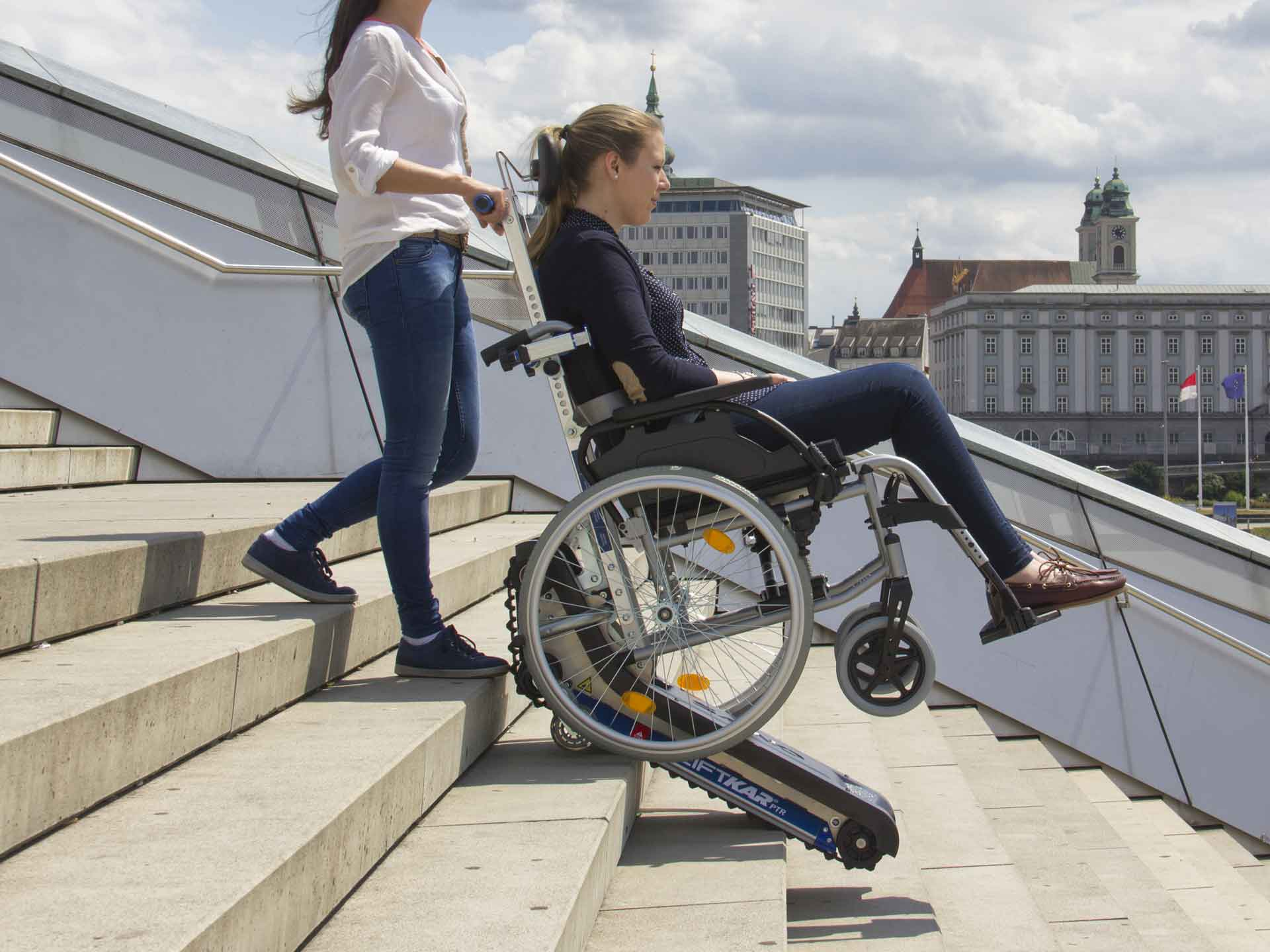 escalier electrique handicape