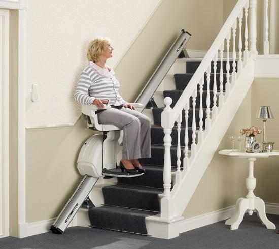 escalier electrique interieur