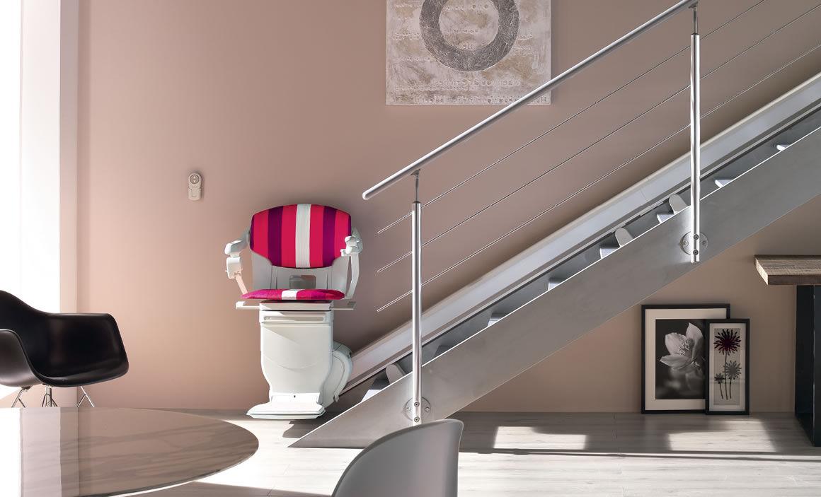 escalier electrique personne agee