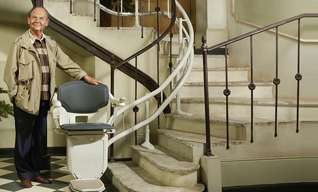 escalier electrique stannah