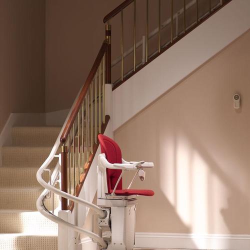 escalier electrique tournant