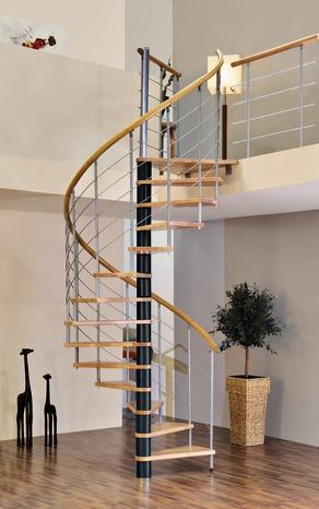 escalier helicoidale electrique