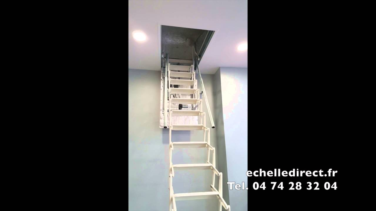 escalier meunier electrique