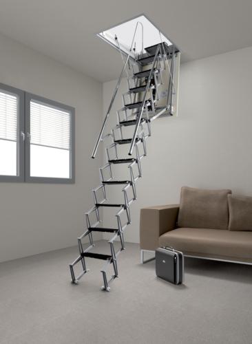 escalier pliable electrique. Black Bedroom Furniture Sets. Home Design Ideas
