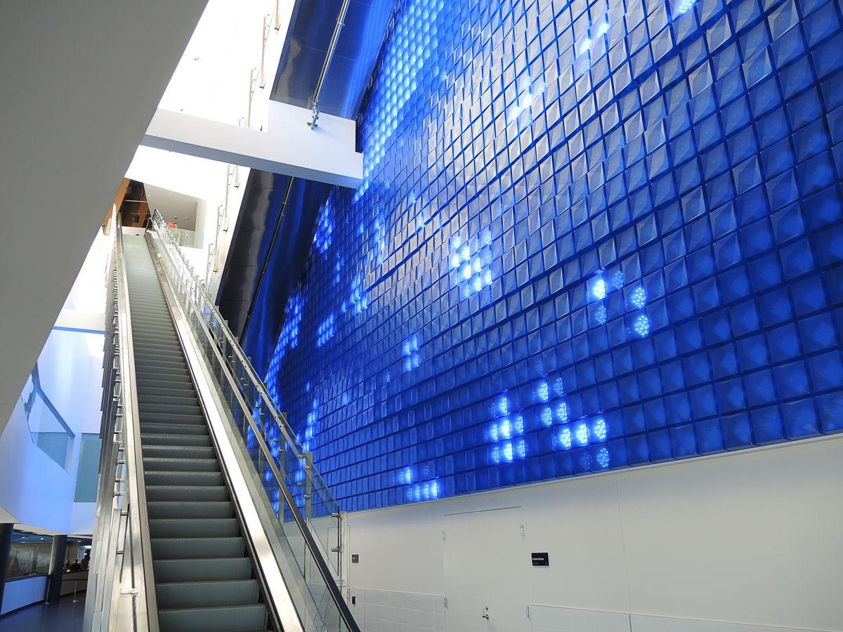 escalier roulant centre videotron