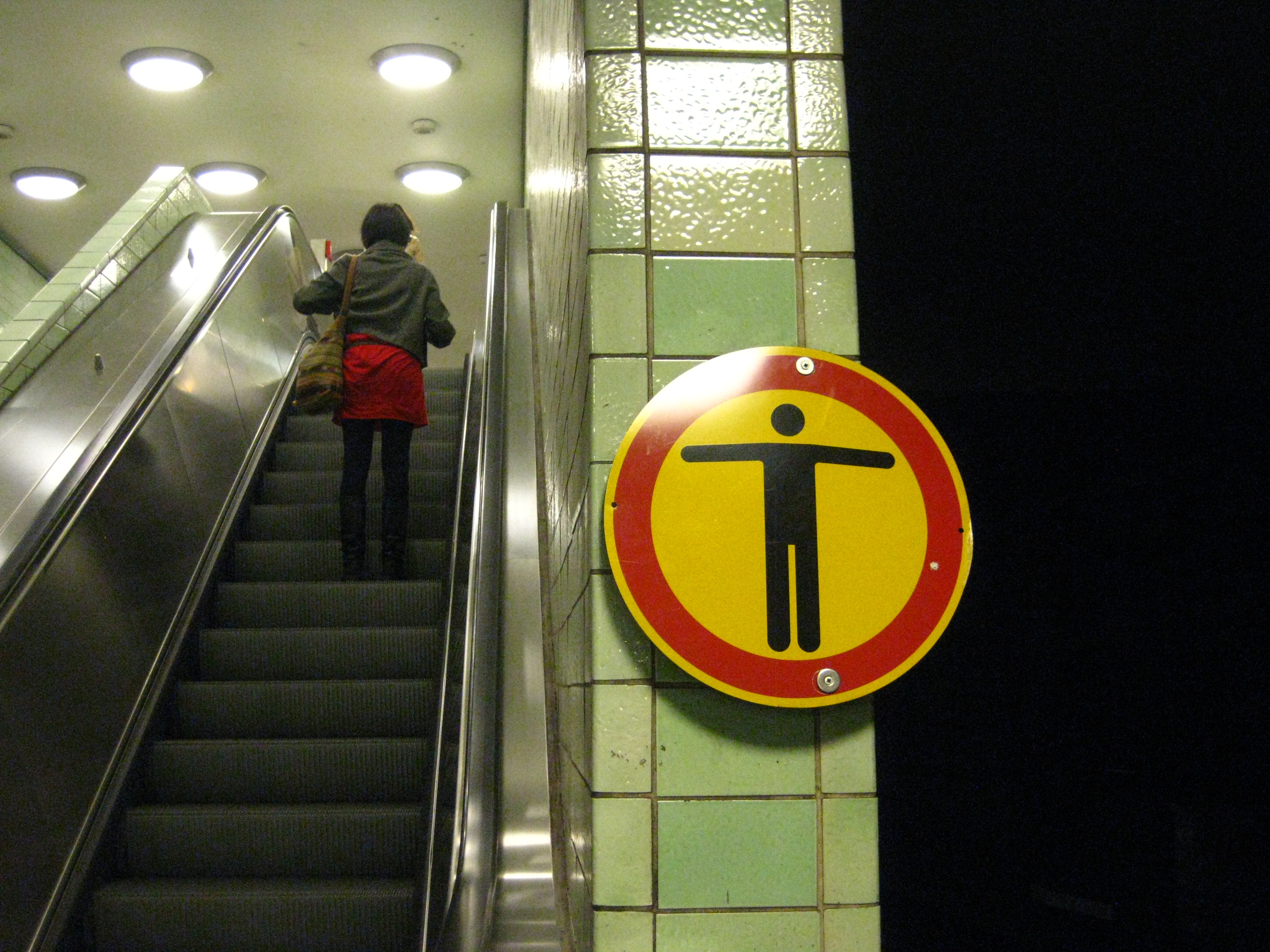 escalier roulant chine