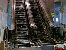 escalier roulant chinoise