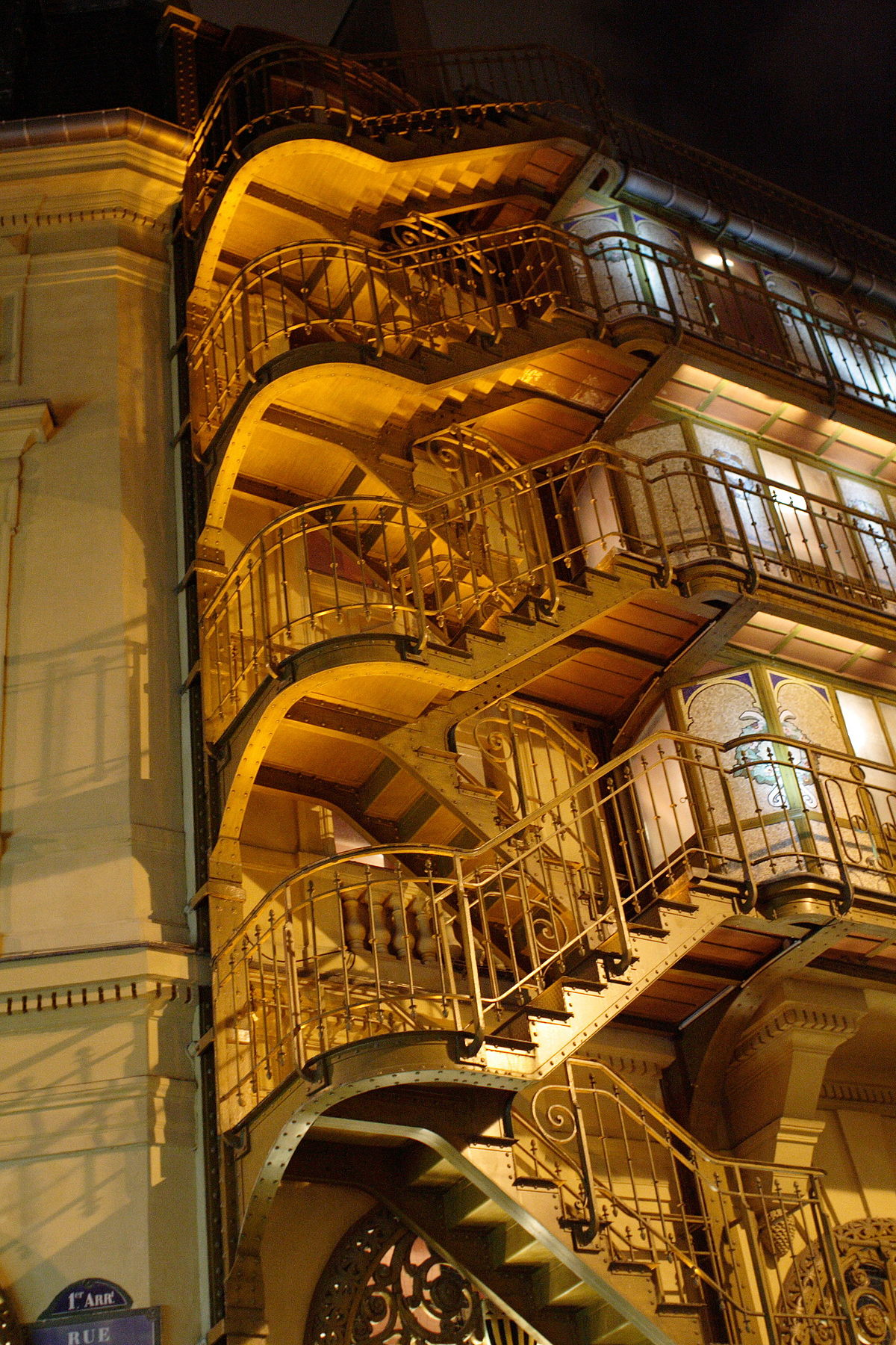escalier roulant definition francais