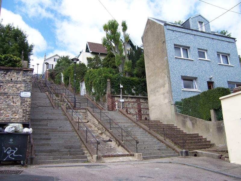 escalier roulant du havre