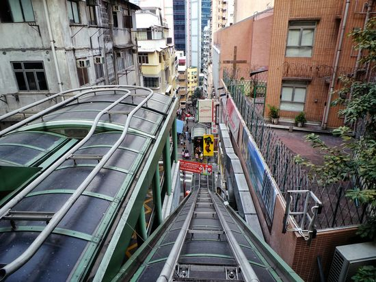 escalier roulant hong kong