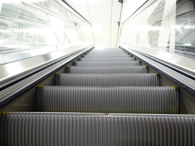 escalier roulant industriel
