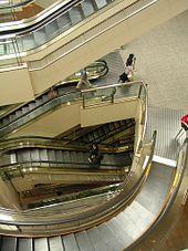 escalier roulant mobile