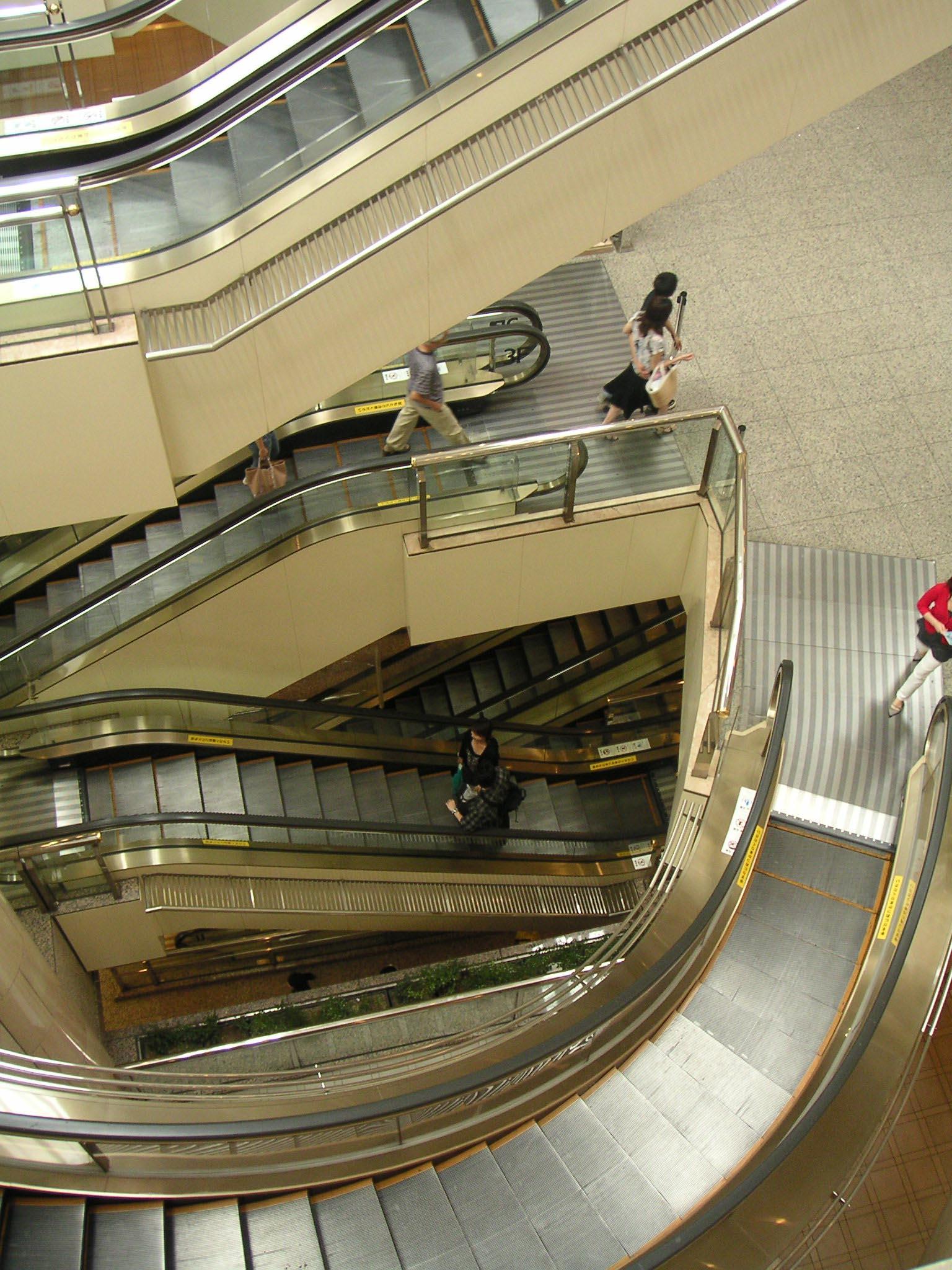 escalier roulant pluriel