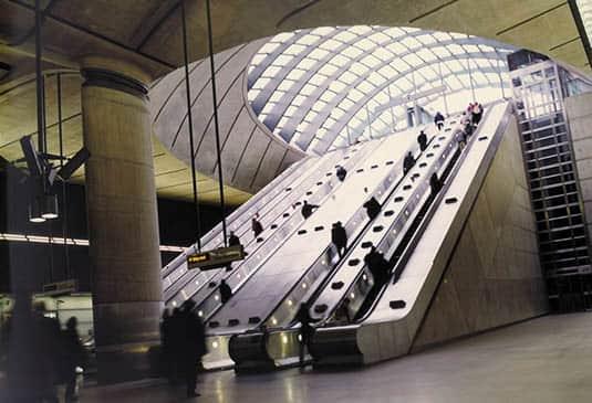 escalier roulant pour grandes hauteurs