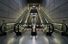 escalier roulant traduction