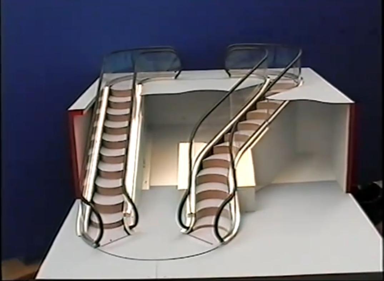 escalier roulant translate