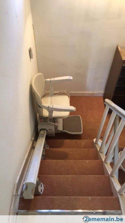 monte escalier 2eme main
