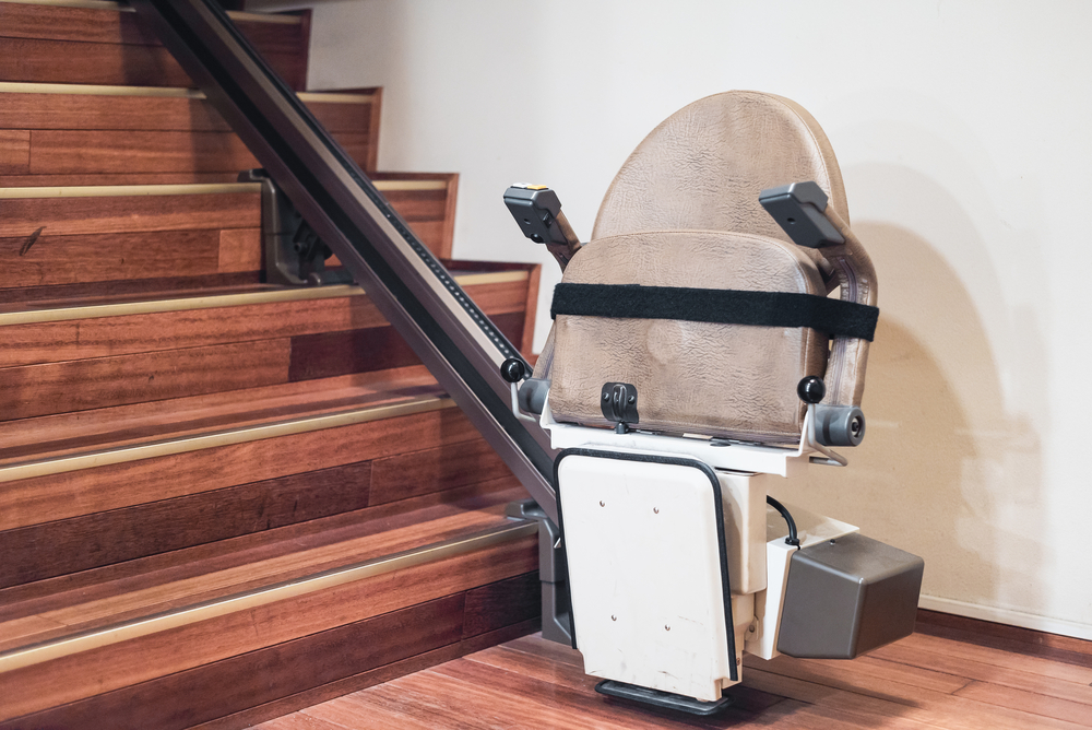 monte escalier 55