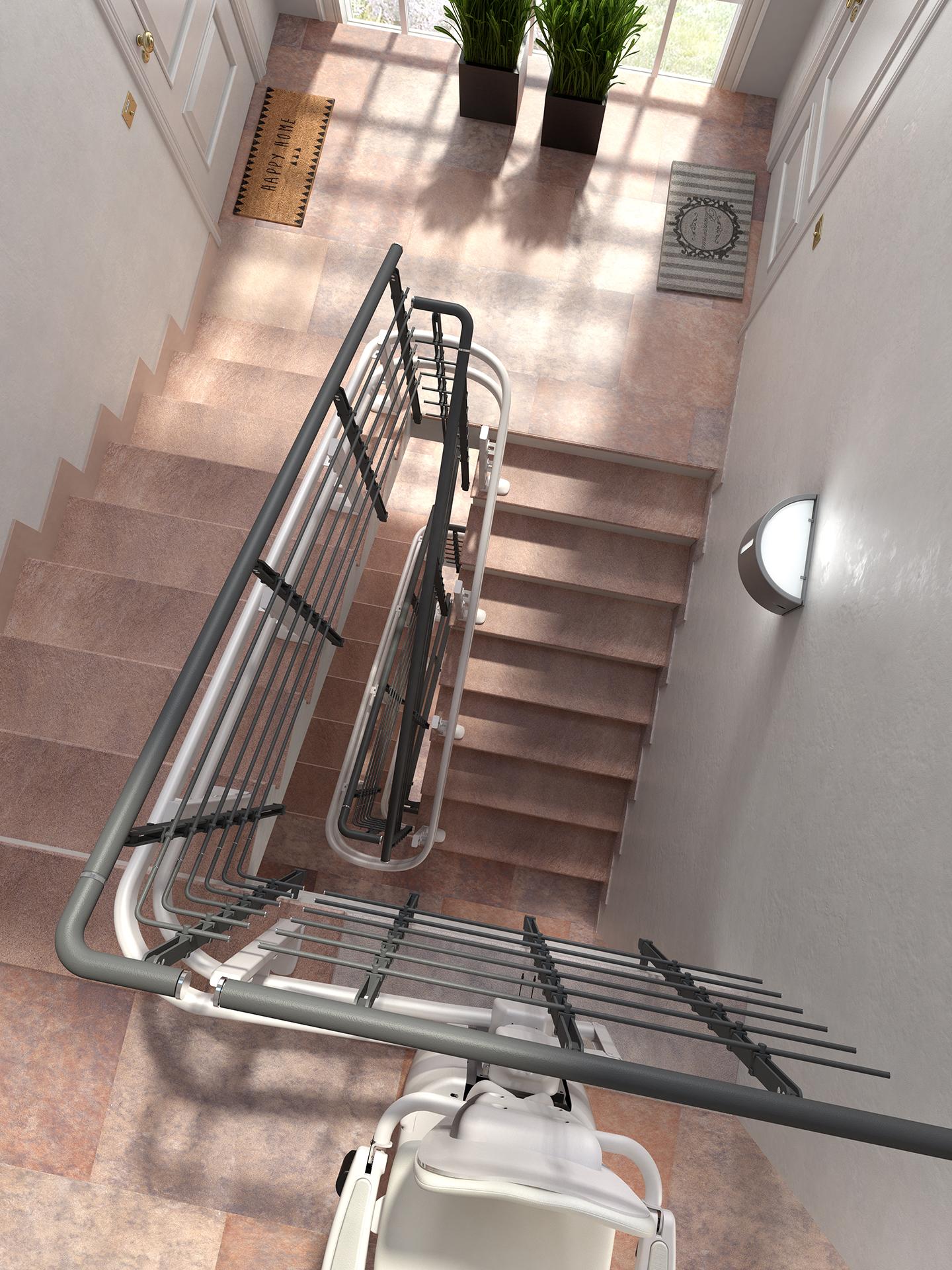 monte escalier 71
