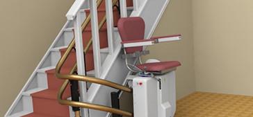 monte escalier 73