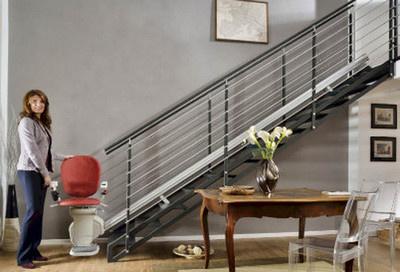 monte escalier 85