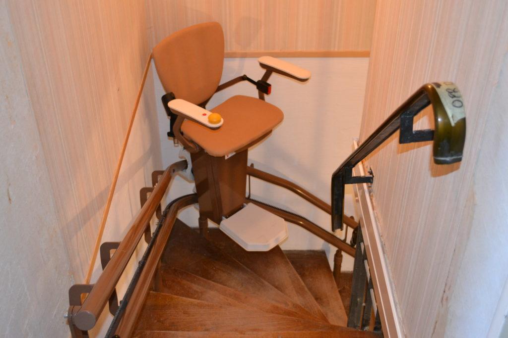 monte escalier a vendre