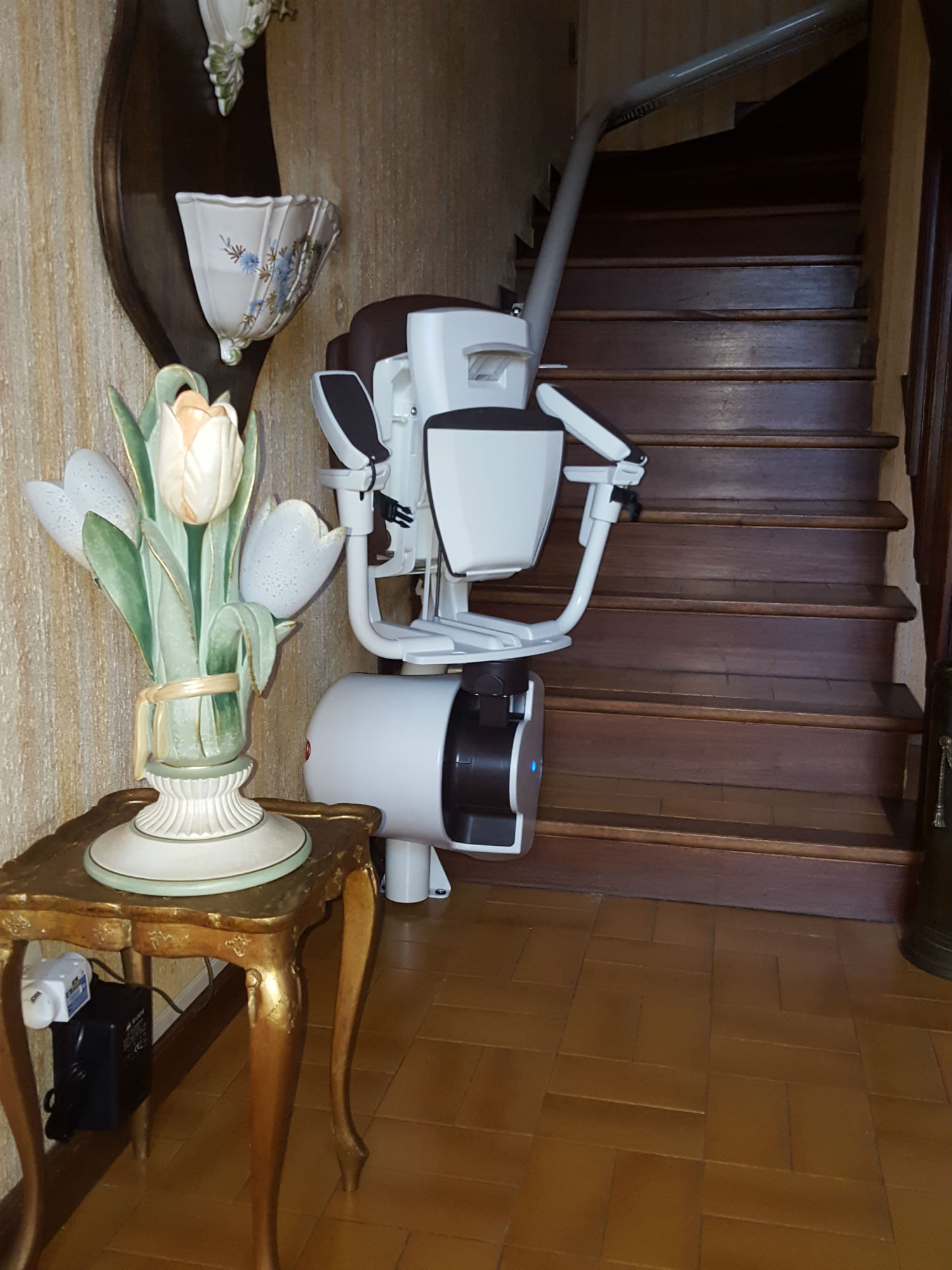 monte escalier albi