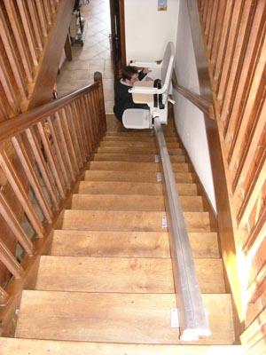 monte escalier bison 50