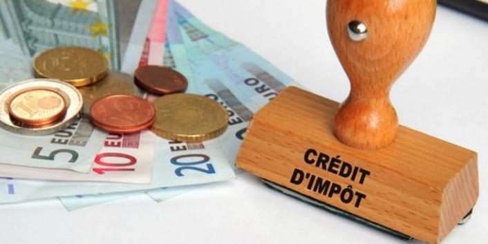 monte escalier credit impot