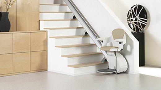 monte escalier dimensions