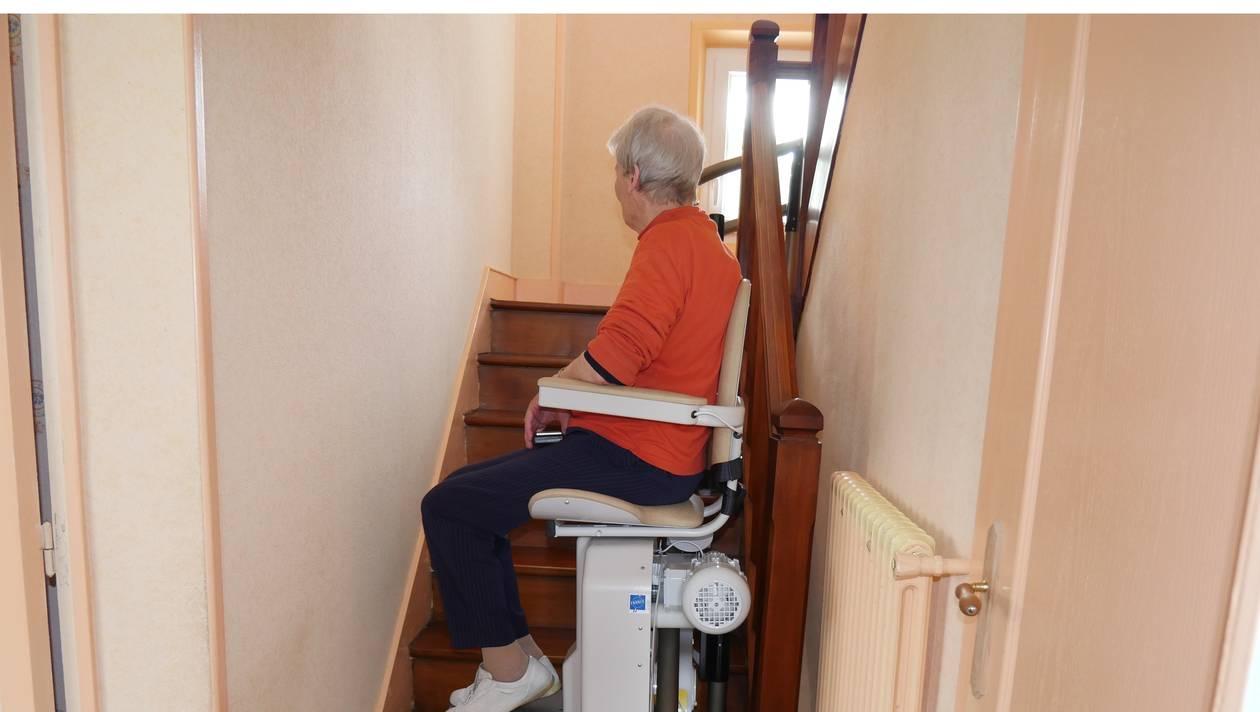monte escalier domfront