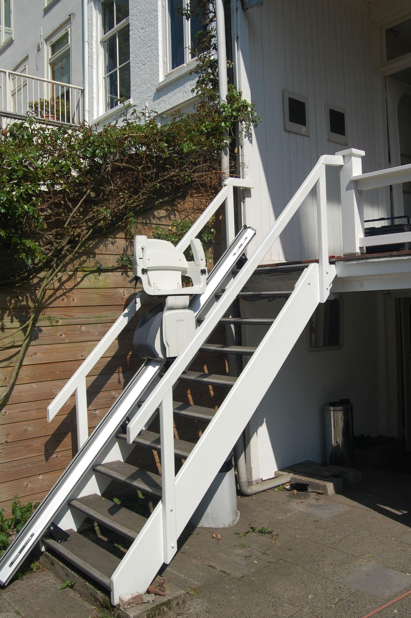 monte escalier electrique exterieur