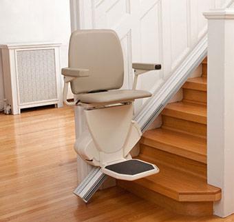 monte escalier electrique location