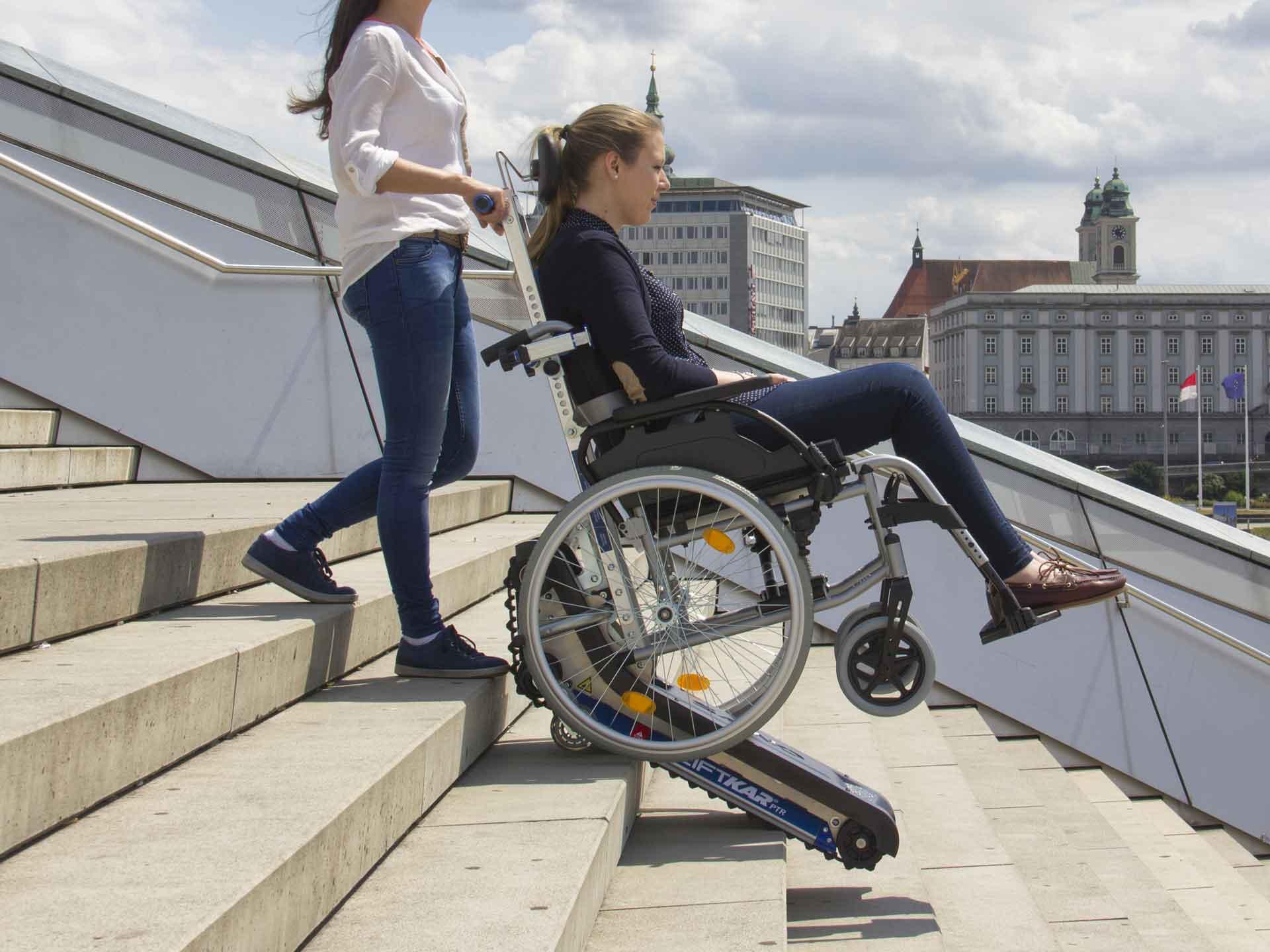 monte escalier electrique pour fauteuil roulant