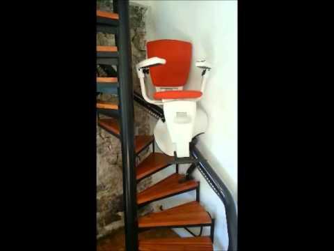 monte escalier en colimacon