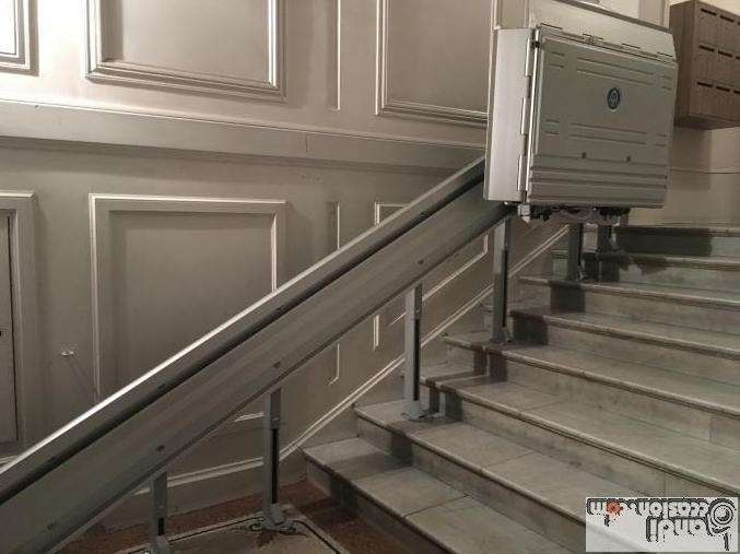 monte escalier exterieur occasion