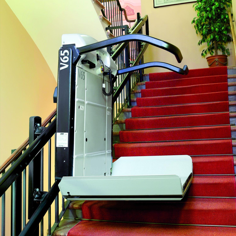 monte escalier exterieur pour handicapes